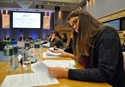 Civil Society Issues Recommendations to the Osce ...
